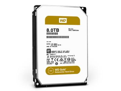Western Digital、HelioSeal採用のデータセンター向け高耐久HDD「WD Gold」 シリーズが登場