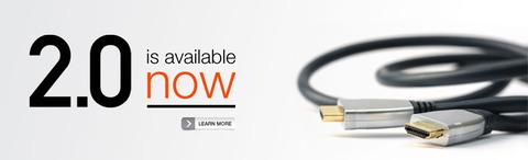 『HDMI 2.0』規格発表--4K@50/60映像(2160p)や32chオーディオに対応
