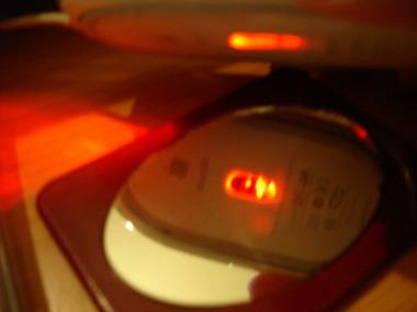 マウス持ち上げると赤く光る奴wwwwwwwww