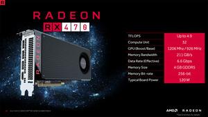 「Radeon RX 470」搭載グラフィックカードが販売開始