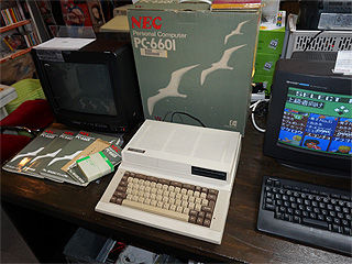 NEC PC-6601の美品が販売中、税込2.4万円 箱やマニュアル、デモテープ付き