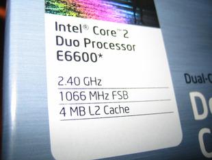 Core2Duo E6600