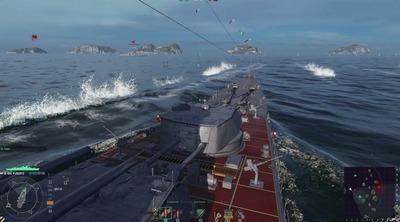 オンライン海戦ストラテジー「World of Warships」ゲームトレーラーの迫力が凄い!