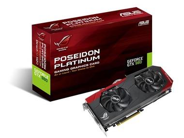 ASUS、空冷液冷可能なGeForce GTX 980搭載のグラフィックスカード「POSEIDON-GTX980-P-4GD5」を発売