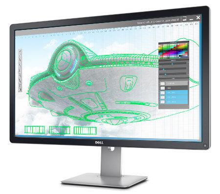 DELL、IGZO採用32インチ4K液晶モニタ「UltraSharp 32」今年Q4発売