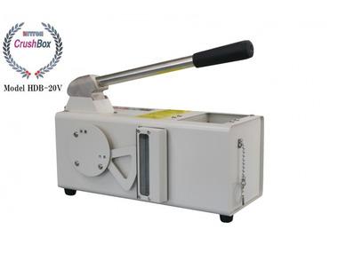HDDクラッシャー、M字型に圧迫破壊する装置「HDB-20V」を発売