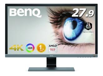 BenQ、27.9型ゲーミング液晶「EL2870U」を発売 4K/HDR/TN/FreeSync対応