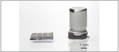 カーボンナノチューブ集積化マイクロキャパシターを開発-アルミ電解コンデンサーと同等の性能で体積を1/1000に-産総研