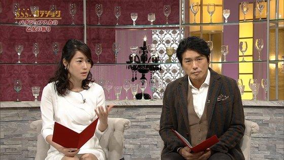 牛田茉友アナが、まさかの純白パンモロ♪♪♪【Eテレなのに♪】