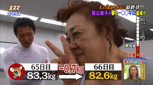 【画像】森公美子がロングブレスダイエットで30kg激ヤセ!!