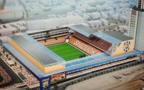 東静岡駅地区にサッカースタジアム構想・・・清水エスパルスの本拠地に