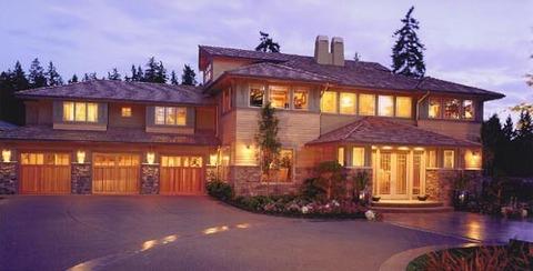 アメリカの豪邸