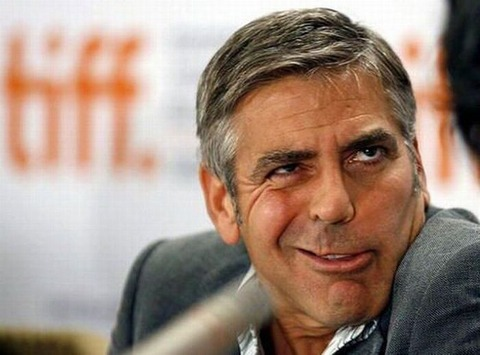 画像で笑ったらおやすみなさい『ジョージクルーニーの衝撃写真』