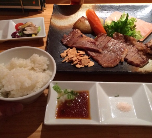 3000円のステーキ食べてきた