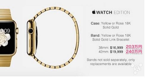 Apple Watch お値段240万円wwwwwwwwwwwwwwwwww