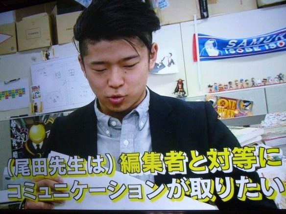 ジャンプ編集部「尾田栄一郎は大御所扱いすると怒る」