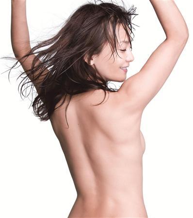 華原朋美、セクシーバックヌード! 20周年ブックで丸裸に[画像あり]