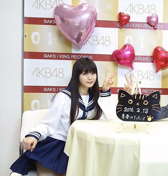 市川美織(22歳)のセーラー服姿が本気でヤバイwwwwww【画像あり】