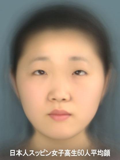 【画像】 「日本の女子の平均顔」 が話題に これはいくらなんでも酷すぎるwwwwwww