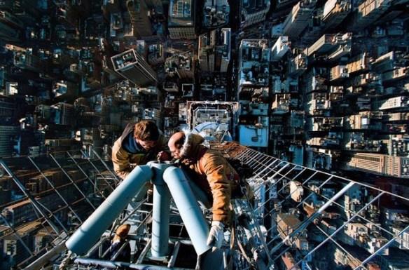 7階から落ちたったwwwww
