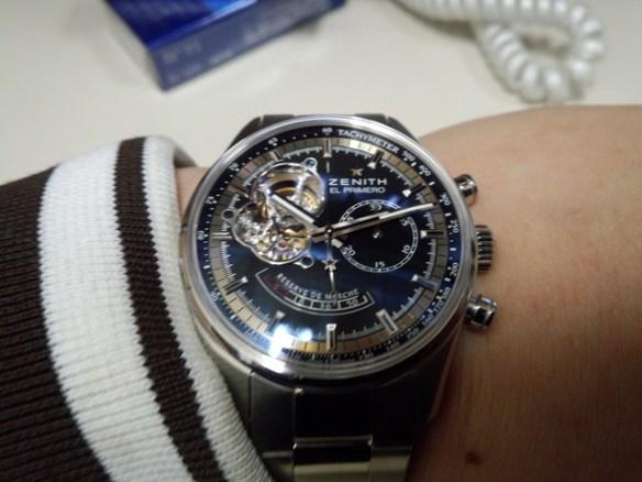 俺の腕時計カッコよすぎワロタwww