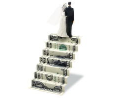 Wedding-money-staircase