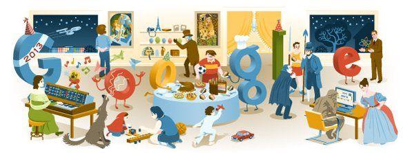 Googleロゴで1年を振り返る Googleホリデーロゴ&Doodlesまとめ~その3~