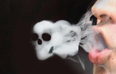 「禁煙すると太るから、逆に病気のリスクが大きくなる」 → 太っても心血管疾患のリスク半減