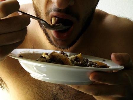 どんなに栄養価高い食べ物でも食べたら太ると考えた結果