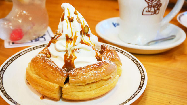 コメダ珈琲 シロノワール チョコレート アイスクリームに関連した画像-01
