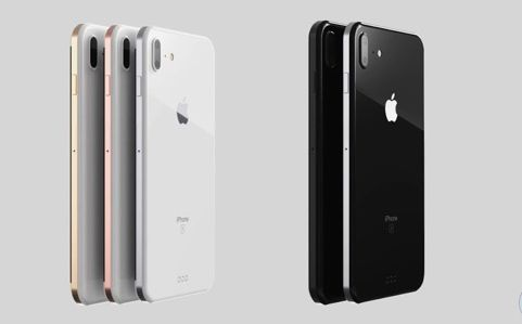 iPhone iPhone8 ホームボタン 消滅 ディスプレイ 指紋認証 移行に関連した画像-01