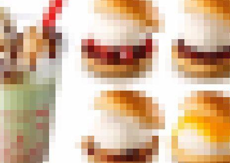 ロッテリア ロッテ 雪見だいふく バーガー 雪見だいふくバーガー シェーキ コラボに関連した画像-01