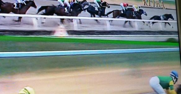 【仰天】スタート直後に騎手が落馬した結果wwwwww(画像あり)