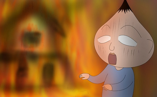 友達の家が火事になったんだが
