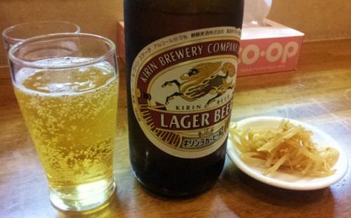 ビールとごはんを同時に飲み食いする気持ちがわからんのだが