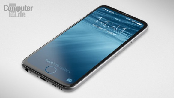 iPhone 7のコンセプトデザイン公開!!画面の一部にホームボタンが登場!?