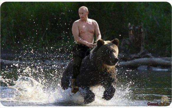プーチンのコラ画像がフィギュアになっててわろたwwwww(画像あり)