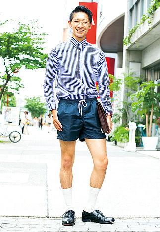 短パンがオシャレだと思って街中で穿いてる奴wwwwwwwwww
