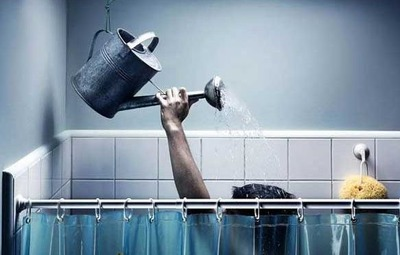 今はシャワーばっかり