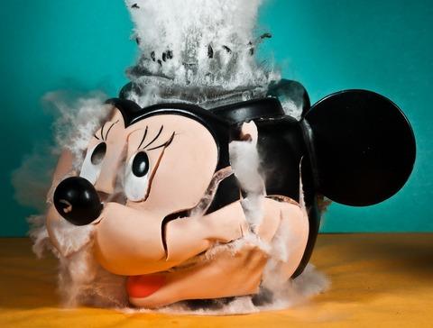 ミ○キーマウスのヤバい画像みつけた