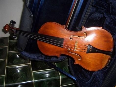 質入れされたバイオリン00