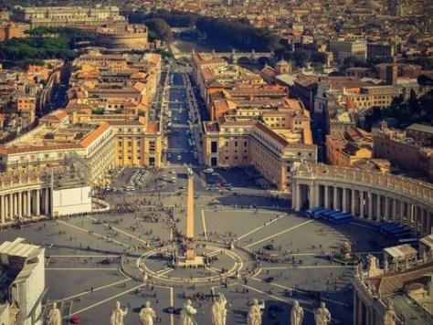 ローマの空