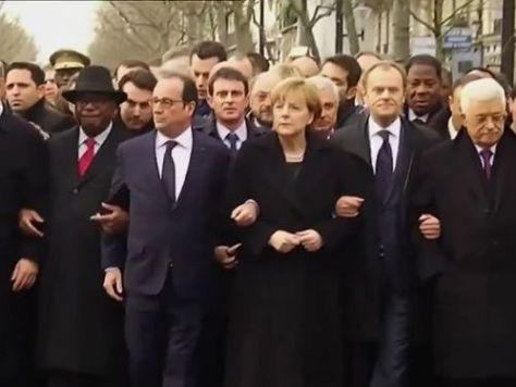 フランスのデモに参加したアルバニアの首相00