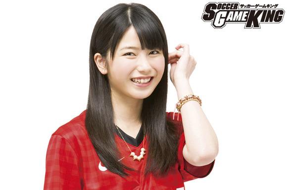 AKB48横山由依「スポーツをしている人が好き。サッカーって爽やかですよね♪」サッカーゲームキング