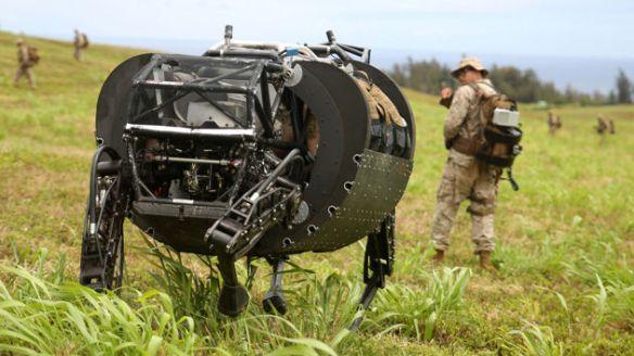 Googleの四脚ロボ、米軍から不採用通知を受ける 理由は「騒音で部隊の位置がばれるから」