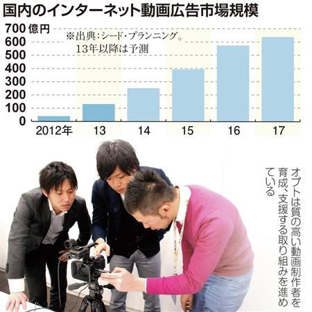 ユーチューバー(動画配信者)と連携、企業の関心高まる 低コストで独自表現 2014/05/05