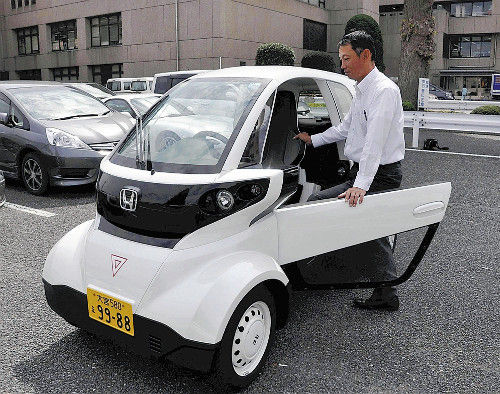 HONDA MC-β全長2500mm2人乗り 超小型EV無料試乗会 埼玉・イオンモール浦和美園