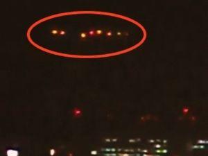 UFO? 那覇の夜空に謎の光 目撃者複数