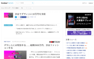 ダサい人に10万円が支給される!  渋谷