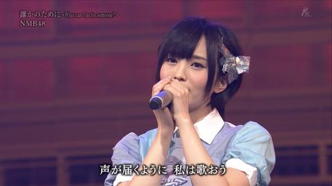 【実況まとめ】NHK『明日へ』3.11コンサートのNMB曲が良かった件 ※背が高すぎて目立った美少女もいた模様